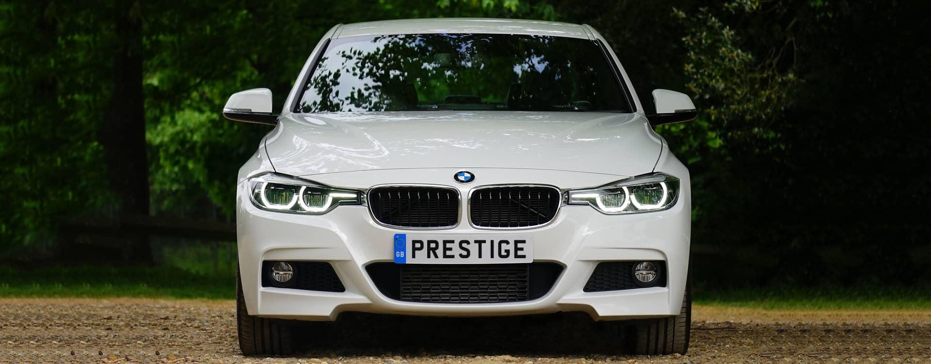 White BMW 5 Series White